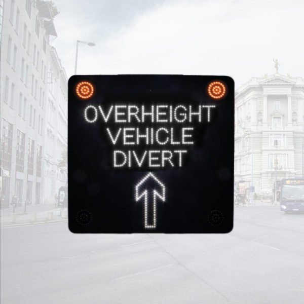 LED Overheight Warning Sign