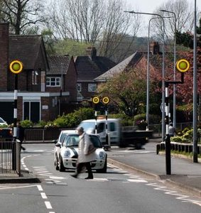 Day Bright, Zebra crossing equipment alternative Belisha Beacon